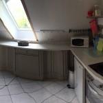 Viel Platz und eine sehr gute Ausstattung bietet die Küche der Ferienwohnung.