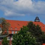 Schloss Blücher ist heute ein 5-Sterne-Hotel mit angeschlossenem Golfplatz