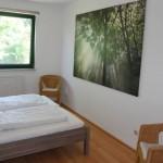 Einfach gut schlafen - Doppelbett in der Wohnung Müritz