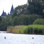 Badeurlaub an der Müritz - mit Blick auf Schloss Klink