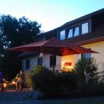 Sommerabend am Naturferienhaus