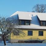 Schneeidylle rund um das Naturferienhaus